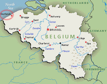 the kingdom of belgium a federal country comprising flanders and wallonia lies in northwest europe it is a founding member of the european union and